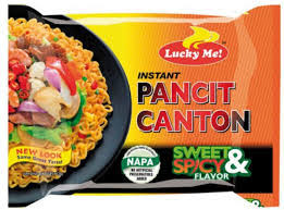 Lucky Me Pancit Canton Sweet and Spicy