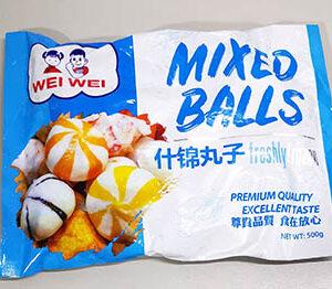 Wei Wei Mixed Balls