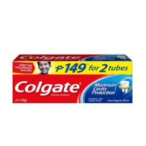 Colgate 195g x 2