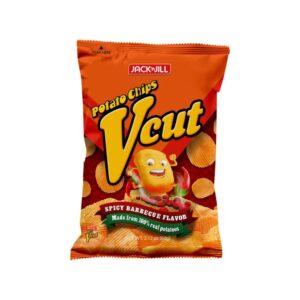 Jack'n Jill Potato Chips Vcut Spicy BBQ Flavor 60g