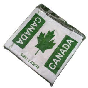 Biodegradable Sando Bag Clear (Large)