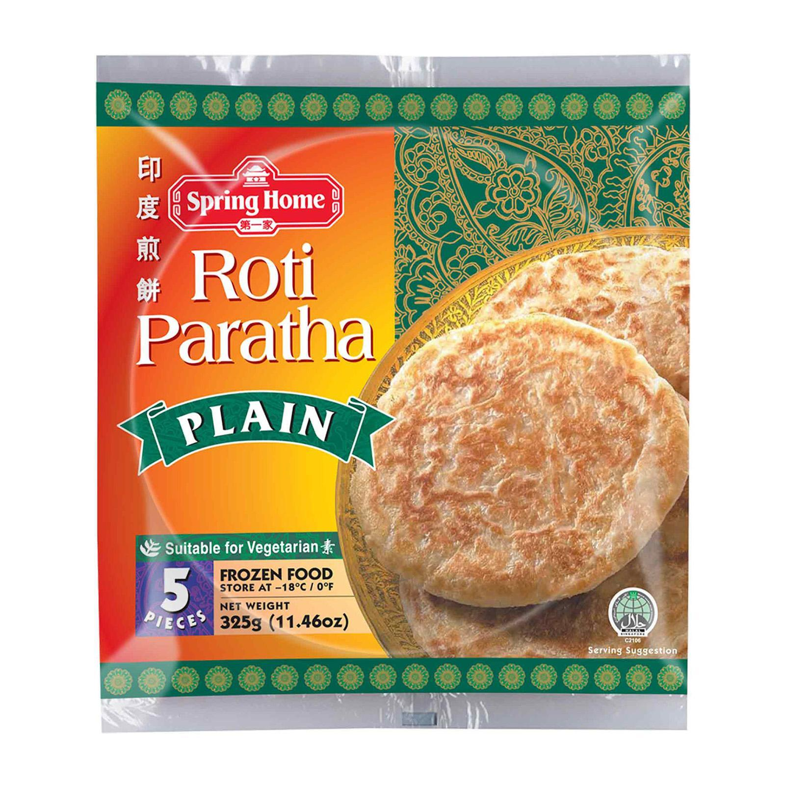 """Read more about the article 10 Easy Recipes with """"Spring Home"""" Roti Paratha"""