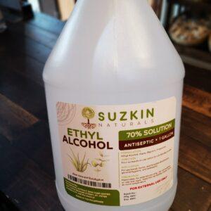 Suzkin Naturals Ethyl Alcohol 1 Gal