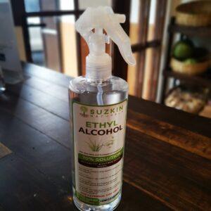 Suzkin Naturals Ethyl Alcohol 500ML