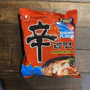 Nongshim Shin Ramyun Shrimp Flavor
