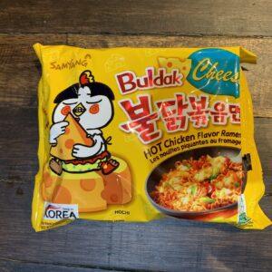 Samyang Buldak Cheese Hot Chicken Flavor Ramen