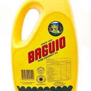 Baguio Pure Coconut Oil 1 Gal.