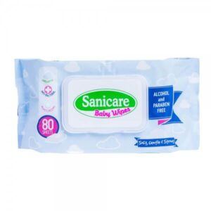 Sanicare Baby Wipes 80 Sheets