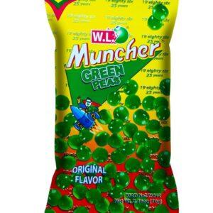 Muncher Green Peas Original Flavor 70g