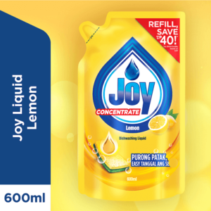 Joy Dishwashing Liquid Lemon 600ML