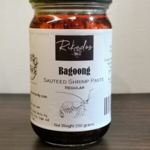 Theo's Bagoong (Shrimp Paste)