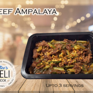 Beef Ampalaya (Ready to eat)