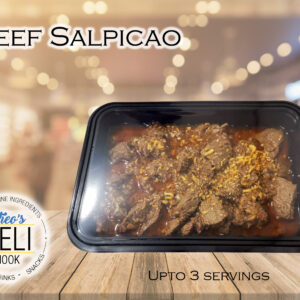 Beef Salpicao (Ready to eat)