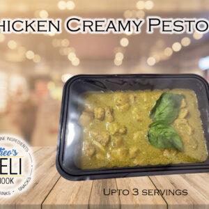 Chicken Creamy Pesto ( Ready to eat)