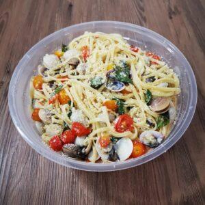 Spaghetti Vongole (Paluto)
