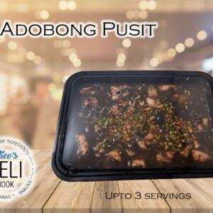 Adobong Pusit (Ready to Eat)