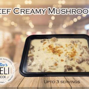 Beef Creamy Mushroom (Ready to eat)