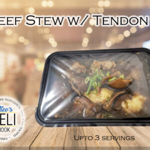 Beef Stew w/ Tendon (Ready to eat)