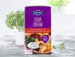 Emborg Sour Cream 1L