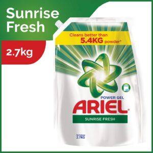 Ariel Liquid Power Gel Detergent Sunrise Fresh 2.7kg