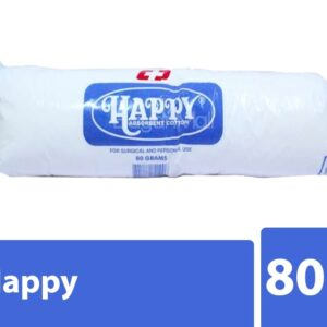 Happy Absorbent Cotton 80g