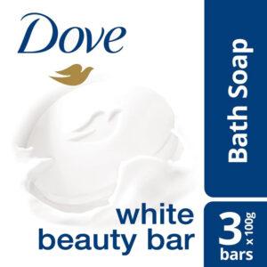 ***PROMO*** Dove White Beauty Bar 3x100g