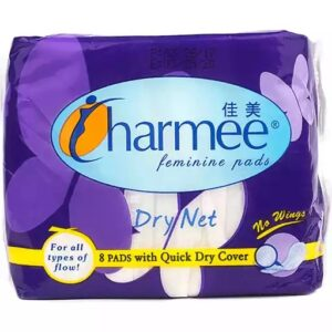 Charmee Dry Net No Wings 8 Pads with Quick Dry Cover
