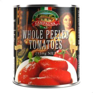Whole Peeled Tomatoes 2550 Grams Campagna